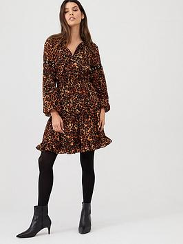 v-by-very-eyelet-detail-printed-dress-leopard