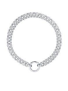 karen-millen-hoop-chain-o-ring-necklace--nbspwhite