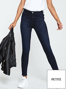 v-by-very-valuenbspshort-florence-high-rise-skinny-jeans-ink