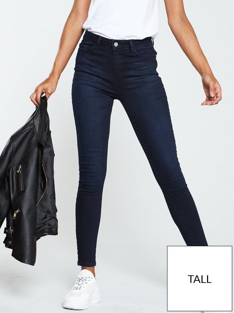 v-by-very-valuenbsptall-florence-high-rise-skinny-jeans-ink