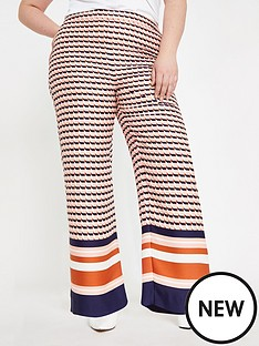 ri-plus-ri-plus-geo-print-wide-leg-trouser--pink