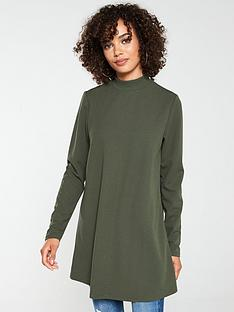 v-by-very-long-sleeve-tunic-khaki
