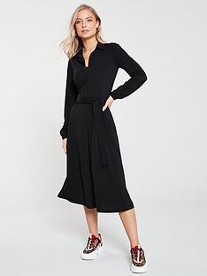 v-by-very-buttoned-jersey-shirt-dress-black