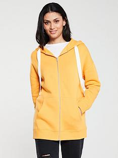 v-by-very-the-essential-oversized-zip-through-hoodienbsp--mustard