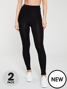 v-by-very-the-essential-2-pack-high-waist-leggings-black