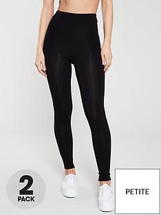 v-by-very-petite-2-pack-high-waist-leggings-blacknbsp