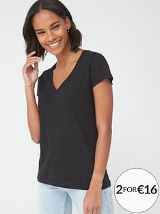 v-by-very-basic-v-neck-t-shirt