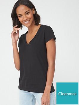 v-by-very-basic-v-neck-t-shirt