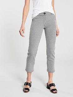 v-by-very-gingham-slim-leg-pant-black-white