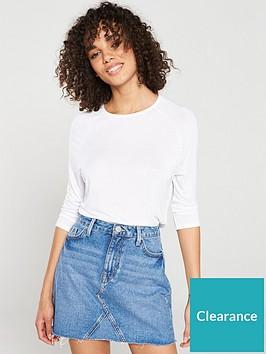 v-by-very-the-essential-three-quarter-sleeved-raglan-top-white