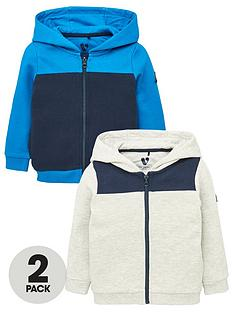 v-by-very-boys-2-pack-colour-block-zip-through-hoodiesnbsp--greynavy