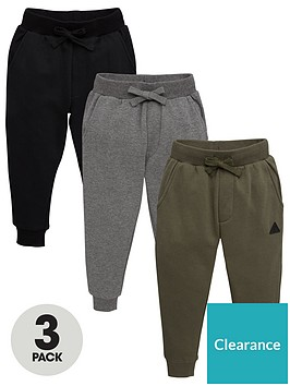 v-by-very-boys-3-pack-joggers-greyblackkhaki