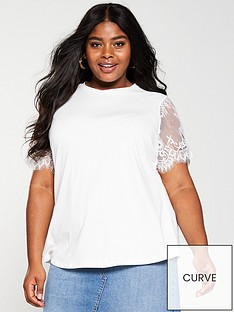 v-by-very-curve-lace-sleeve-t-shirt-ivory