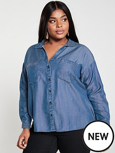 v-by-very-curve-denim-shirt-blue-wash