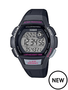casio-casio-black-and-pink-detail-digital-step-tracker-dial-black-silicone-strap-ladies-running-watch