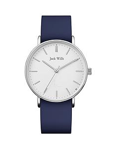 jack-wills-jack-wills-sandhills-white-and-silver-detail-dial-navy-silicone-strap-ladies-watch