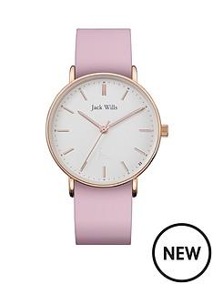 jack-wills-jack-wills-sandhills-white-and-rose-gold-detail-dial-pink-silicone-strap-ladies-watch