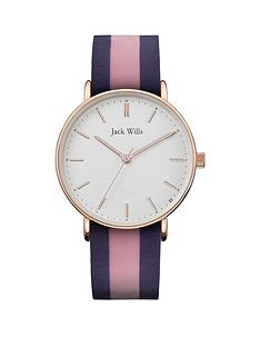 jack-wills-jack-wills-sandhills-white-and-rose-gold-detail-dial-pink-and-blue-striped-silicone-strap-ladies-watch