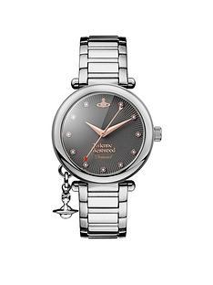 vivienne-westwood-vivienne-westwood-orb-gunmetal-textured-diamond-set-dial-with-orb-charm-stainless-steel-bracelet-ladies-watch