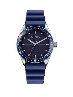 jack-wills-jack-wills-mill-bay-blue-dial-blue-silicone-wave-strap-mens-watch