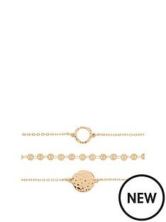michelle-keegan-3-pack-bracelets-gold