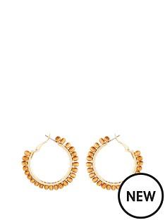 michelle-keegan-beaded-hoop-earrings