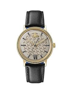 vivienne-westwood-vivienne-westwood-turnmill-gold-hound-tooth-and-gunmental-detail-dial-black-leather-strap-mens-watch