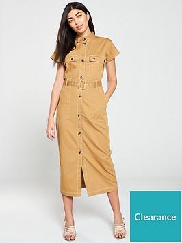 v-by-very-midi-utility-dress-camel