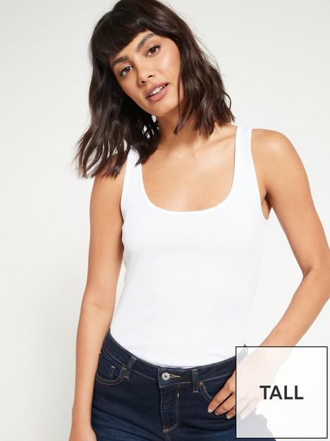 v-by-very-tallnbspthe-essential-rib-vest-white