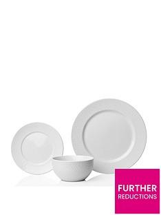 sabichi-white-hammered-12-piece-porcelain-dinner-set
