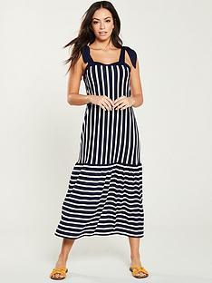 v-by-very-contrasting-stripe-maxi-dress-blue