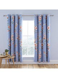 catherine-lansfield-catherine-lansfield-canterbury-blackout-eyelet-curtains-blue
