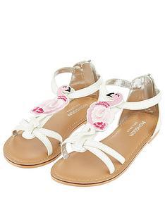 d90e71a0a Monsoon Freya Flamingo Strappy Sandal