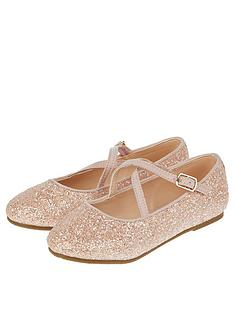monsoon-monsoon-clemmie-glitter-cross-strap-ballerina