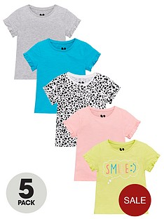 v-by-very-girls-5-pack-frill-smileanimal-print-t-shirts-multi