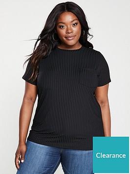 v-by-very-curve-slinky-rib-t-shirt-black