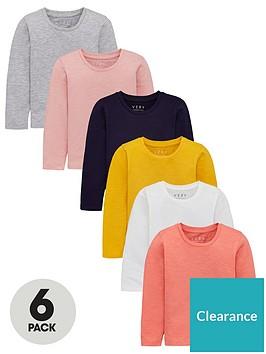 v-by-very-girls-6-pack-long-sleeve-t-shirts-multi