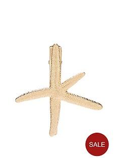 michelle-keegan-starfish-hair-clip-gold