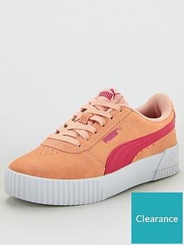 puma-carina-junior-trainers-pink