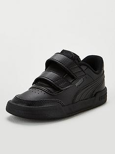 puma-caracal-v-infant-trainers-blackgrey