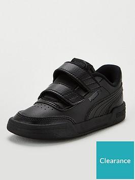 puma-caracal-v-infant-trainers-blackgrey