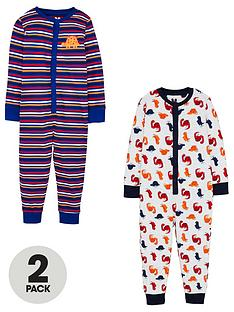 v-by-very-boys-2-pack-dino-stripe-all-in-ones-multi