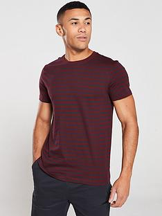 v-by-very-stripednbspcrew-neck-t-shirt-burgundynavy