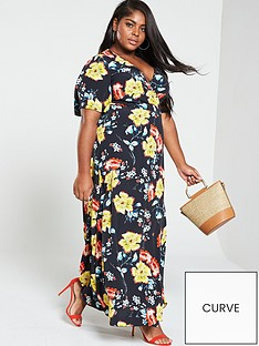 girls-on-film-curve-wrap-maxi-dress-multinbspprint