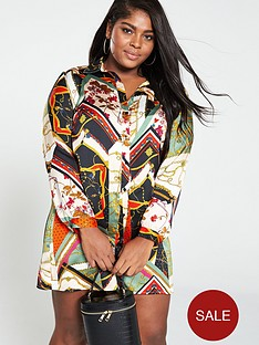 girls-on-film-curve-spliced-print-shirt-dress-multinbspprint