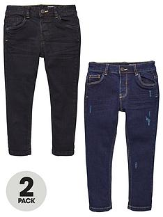 v-by-very-boys-2-pack-regular-slim-jeans-blackblue
