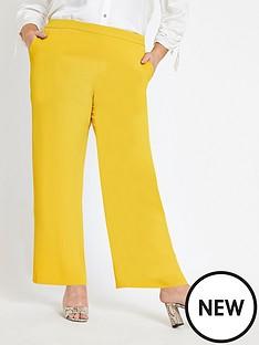ri-plus-wide-leg-trouser-yellow
