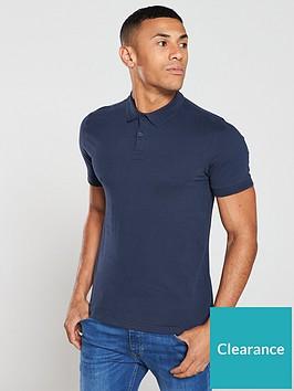 very-man-collar-detail-jersey-polo-shirt-navy