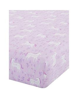 catherine-lansfield-folk-unicorn-junior-fitted-sheet