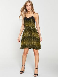v-by-very-animal-print-pleated-dress-printnbsp